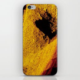 Violet Yellow Stone iPhone Skin