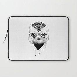 Enigmatic Skull Laptop Sleeve