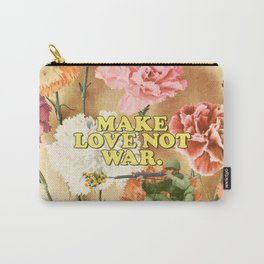Make Love Not War Carry-All Pouch