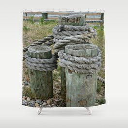 Tightly Secured Shower Curtain