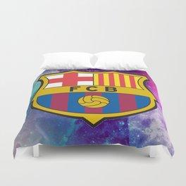 Barcelona FC Galaxy Duvet Cover