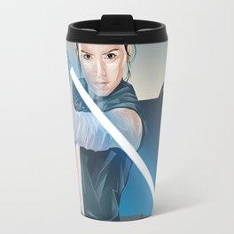 Rey Last Jedi Travel Mug