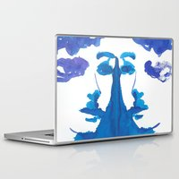 mirror Laptop & iPad Skins featuring mirror by Zsofi Porkolab