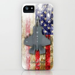 USAF Lockheed Martin F-35B iPhone Case