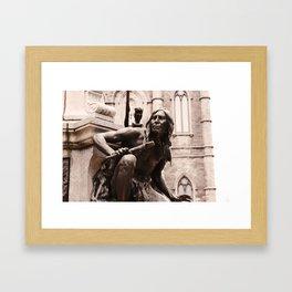 American indian Framed Art Print