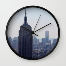 South New York City Wall Clock