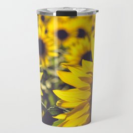 Summer Sunflower Love Travel Mug