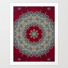 Mandala Nada Brahma  Art Print
