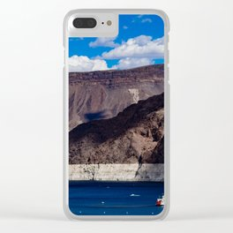 Hoover Dam  V/ Lake Mead Clear iPhone Case