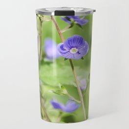 Forest blue flower. Travel Mug