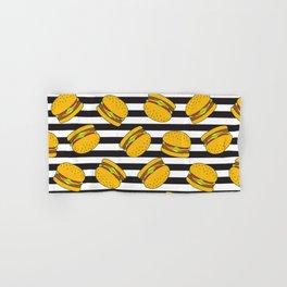 Burger Stripes By Everett Co Hand & Bath Towel