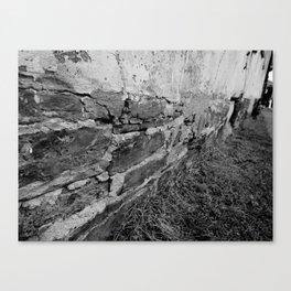 OLD STONES Canvas Print