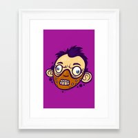hannibal Framed Art Prints featuring Hannibal by Artistic Dyslexia