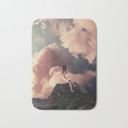 You came from the Clouds Bath Mat