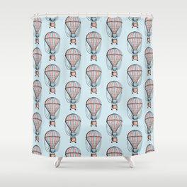 Air balloon Shower Curtain