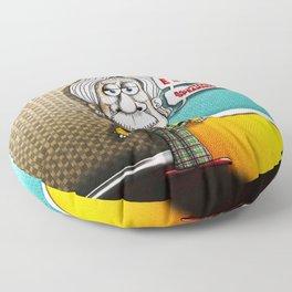 Relatively Einstein Floor Pillow