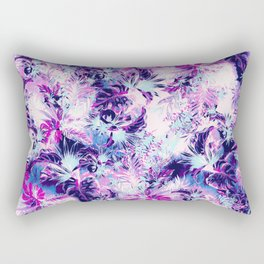 Tropical Heaven Purple Rectangular Pillow