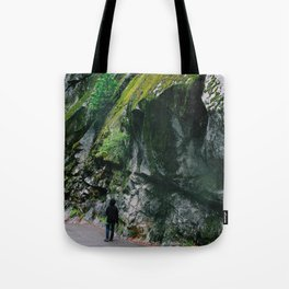 Stacked moss Tote Bag