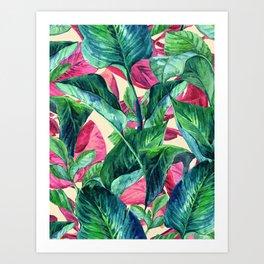 My Tropical Garden 24 Art Print