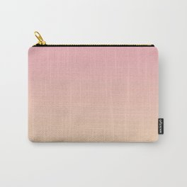 Pink and Peach Gradient. Carry-All Pouch