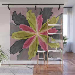 No Sadness, Joy, Fantasy Flower Wall Mural
