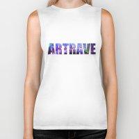 artrave Biker Tanks featuring artRAVE Venus by ARTPOPdesigns