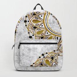 Shattered Silk Mandala Backpack