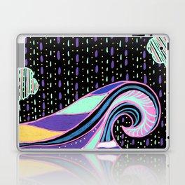 Neon Wave Laptop & iPad Skin
