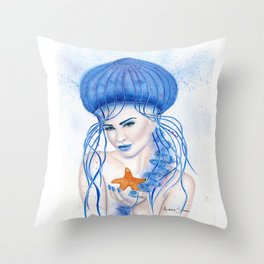 Oceania Throw Pillow
