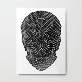Cross Eyed Metal Print