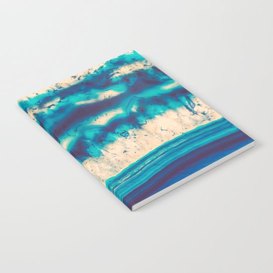 Blue Agate Water Element Notebook