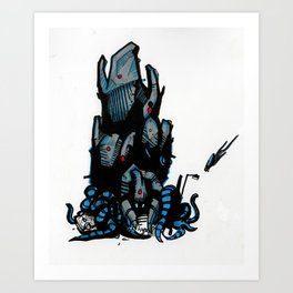 Tripod Art Print