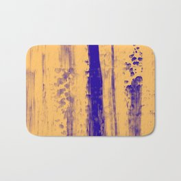Gerhard Richter Inspired Abstract Urban Rain 4 Modern Art - Corbin Henry Bath Mat