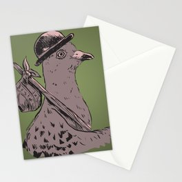 Hobo Pigeon Stationery Cards
