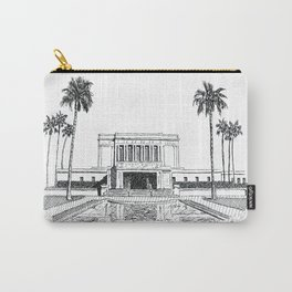 Mesa Arizona LDS Temple Carry-All Pouch
