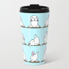 Bunnies Yoga Travel Mug