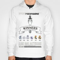 real madrid Hoodies featuring REAL MADRID by sokteulu
