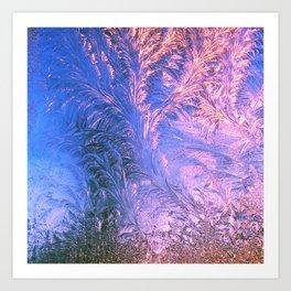 Ice Fractals Art Print
