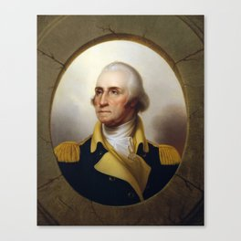 General George Washington Canvas Print