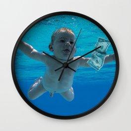 Nirvana - Nevermind Wall Clock