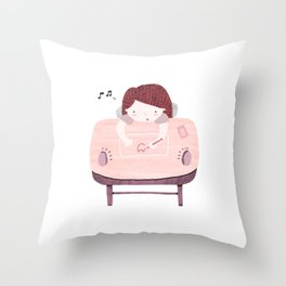 Why Home Office? Throw Pillow