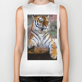 Regal Tiger Biker Tank