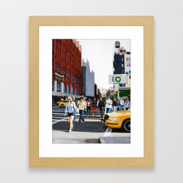 SoHo, New York City Framed Art Print