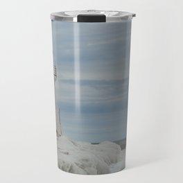Frozen Lighthouse Travel Mug