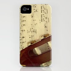 Music iPhone (4, 4s) Slim Case