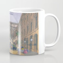 Paris art print Paris Decor office decoration vintage decor HOTEL DU LOUVRE of Paris Coffee Mug