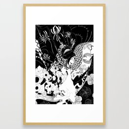 Vessels Framed Art Print