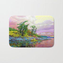 Wind Sculpture by Amanda Martinson Bath Mat