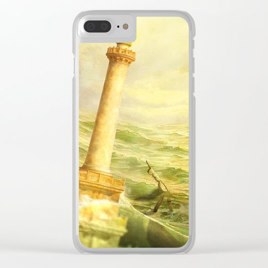 The Fall of Alexandria Clear iPhone Case