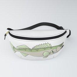 Walleye fish Fanny Pack